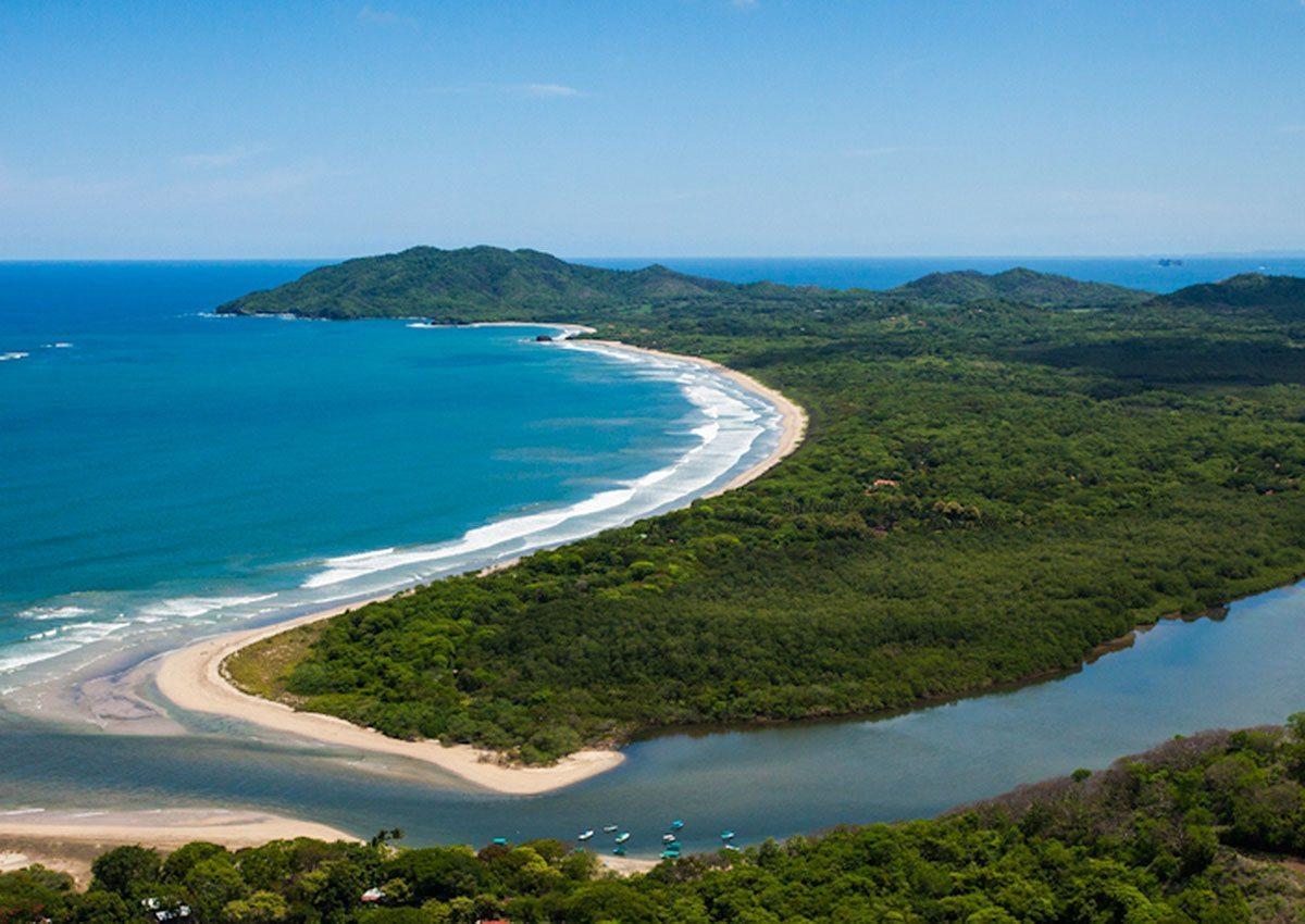 Aerial-view-of-Playa-Grande-and-Estuary