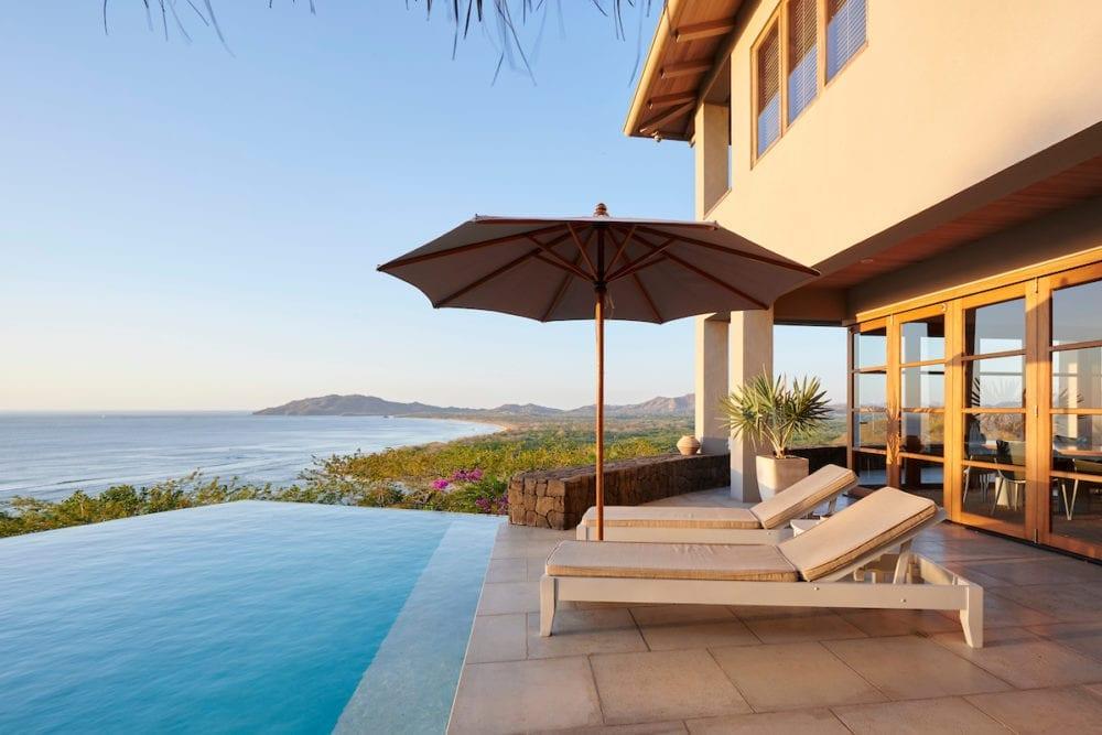 Casa Alamandas-Terrase : Pool + view
