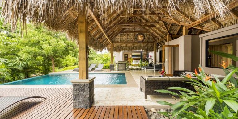 Casa Oceana- Pool side view