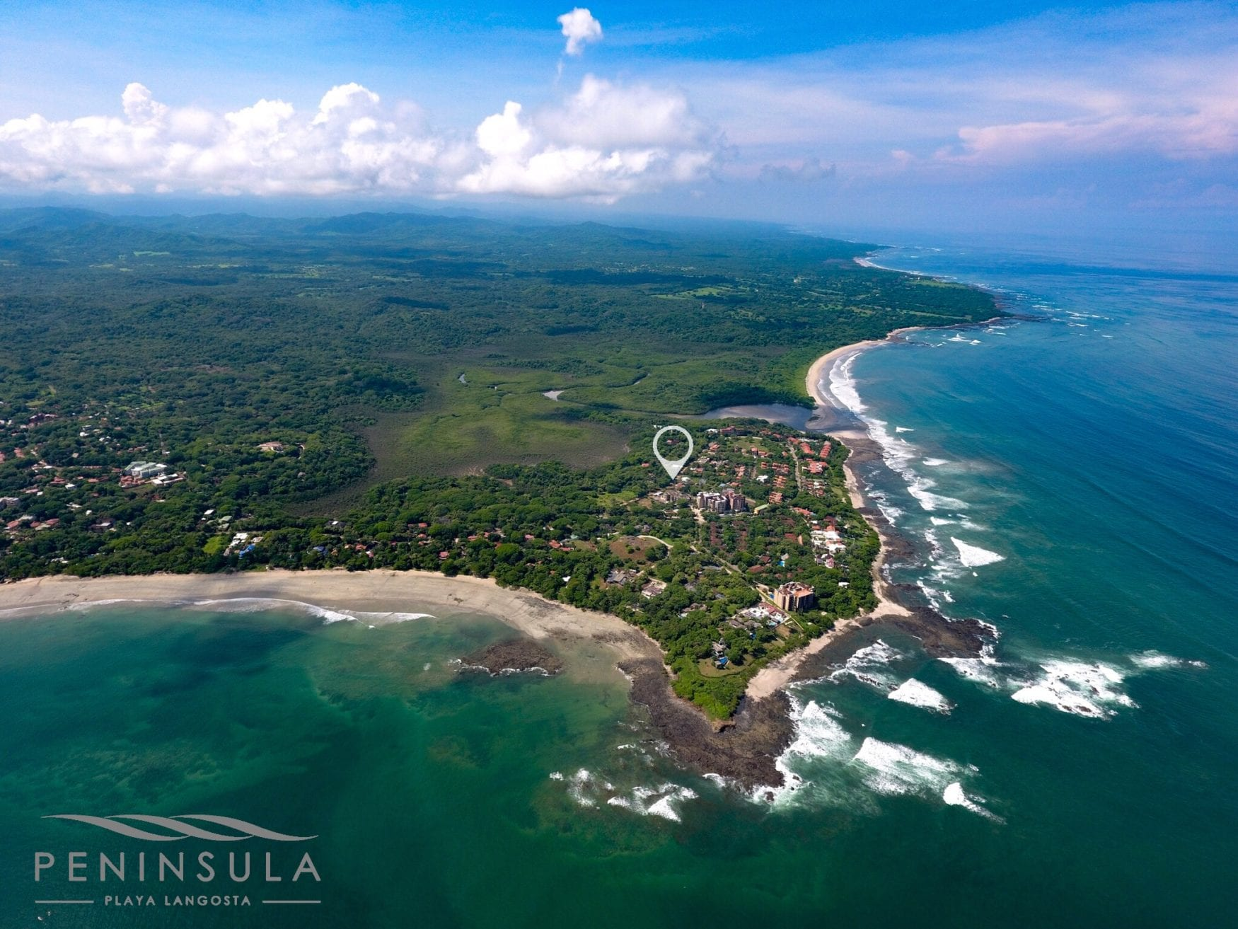 Peninsula from above