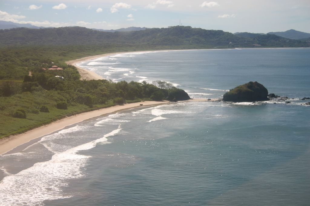 Aerial View of Playa Grande, Costa Rica