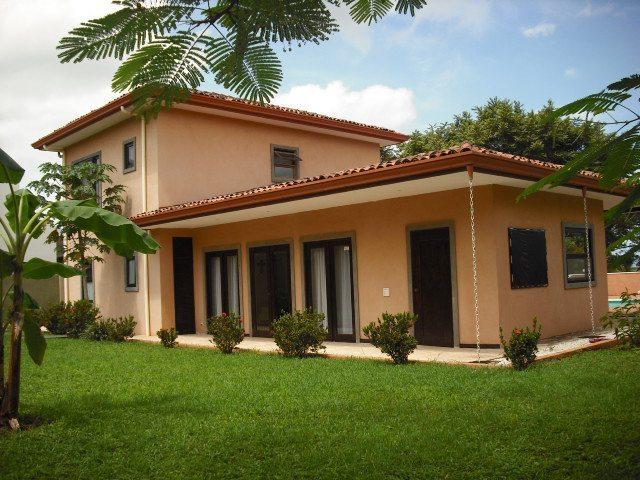 Villa Flamboyan Back Yard