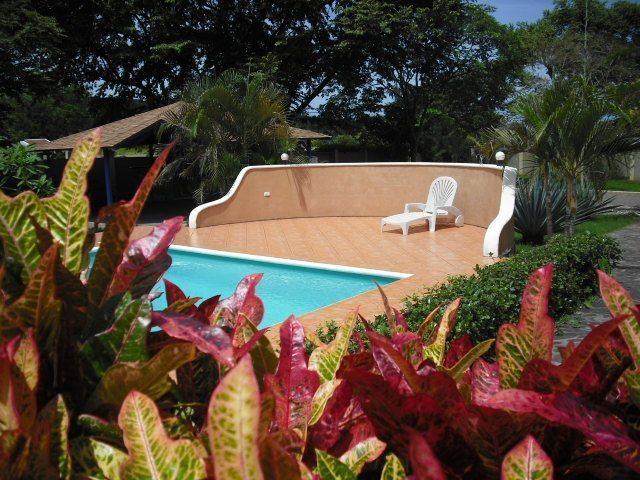 Villa Flamboyan Sunning Area