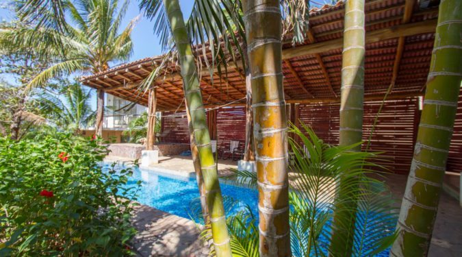 Playa Negra Beachfront home swimming pool