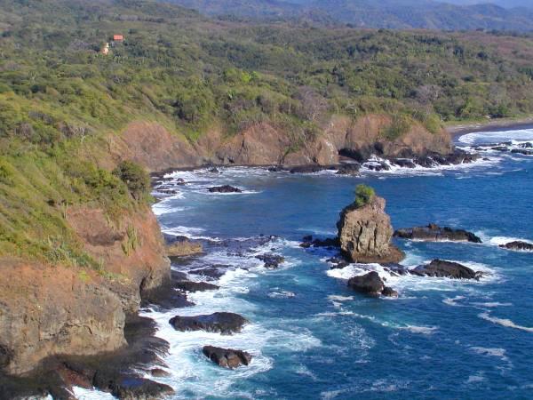 Punta India aerial fr. wnw