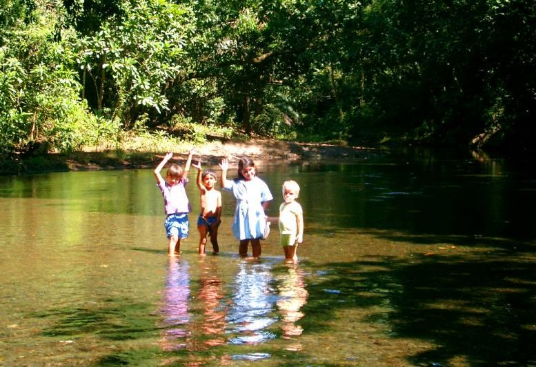 KIds in the rio