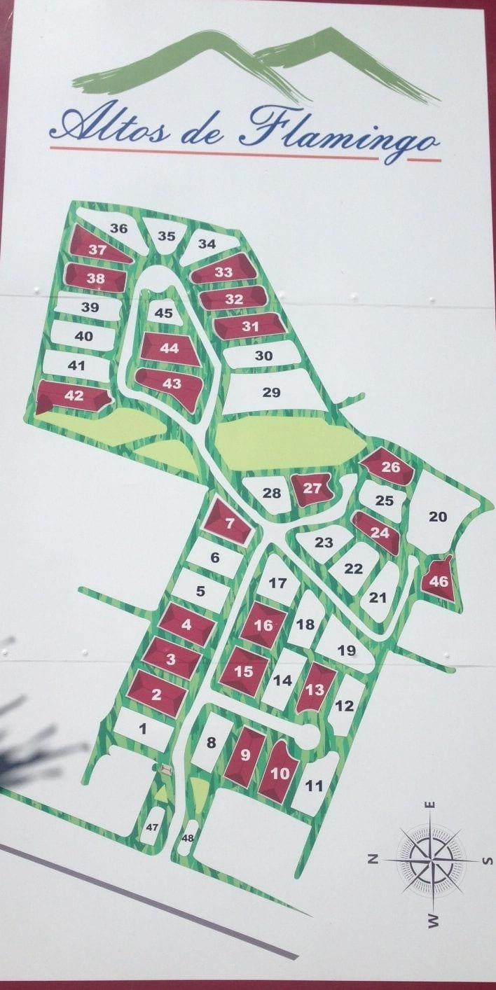 12. Altos lot map