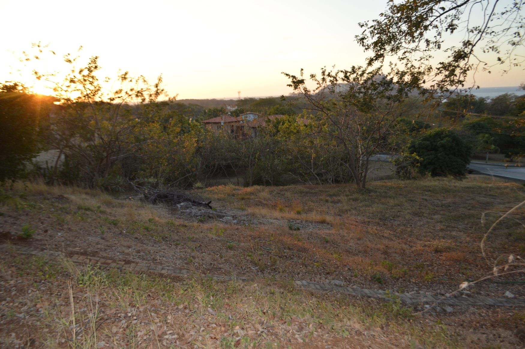 3 – Lot Area Surrounded By Nature – Oceanview Lot in Gated Community Close To Beach