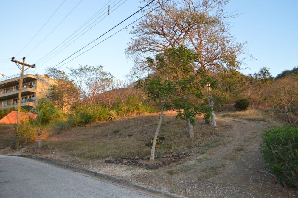 5 – Front View Of Lot – Oceanview Lot in Gated Community Close To Beach