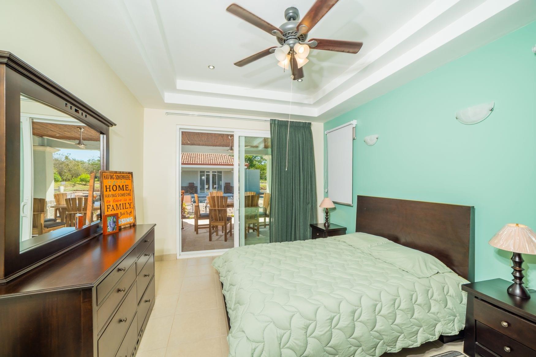 Spacious guest suite