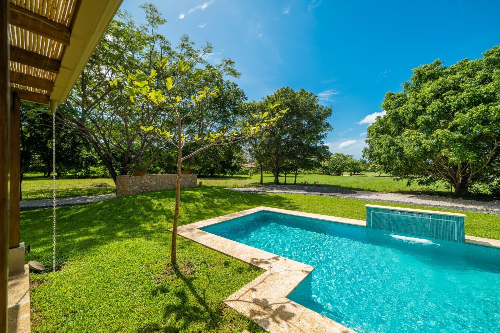Swimming pool & garden 1