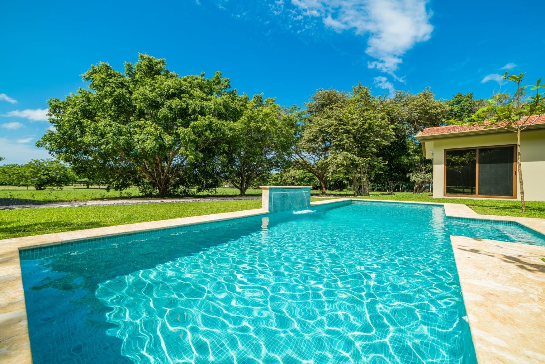Swimming pool & graden 6
